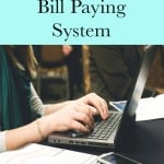 Organize Your Bill Paying System