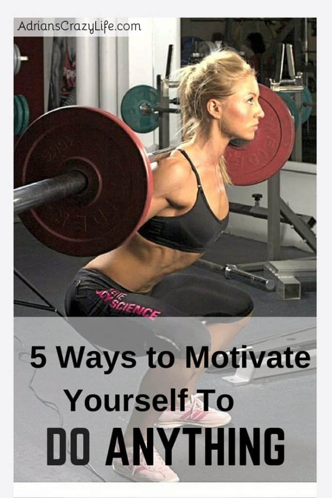 5 Ways to Motivate Yourself to Do ANYTHING @AdriansCrazyLif These are some very simple tips I've picked up over the years to motivate myself.