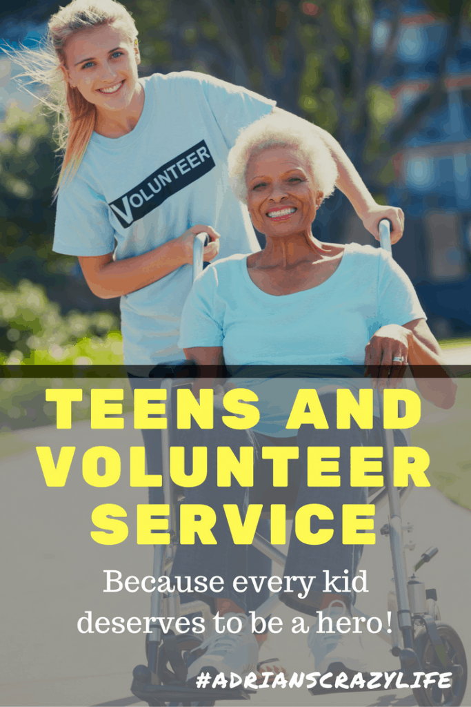 teen volunteer service