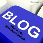 My blog is upgrading to Word Press