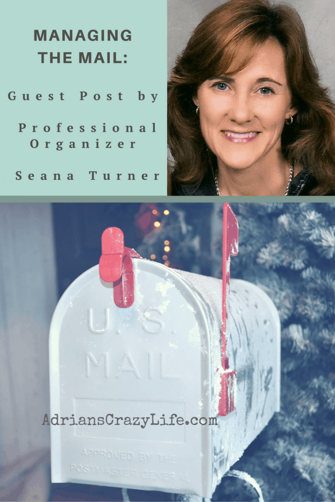 Professional organizer Seana Turner will show us how to manage the daily junk mail pile!