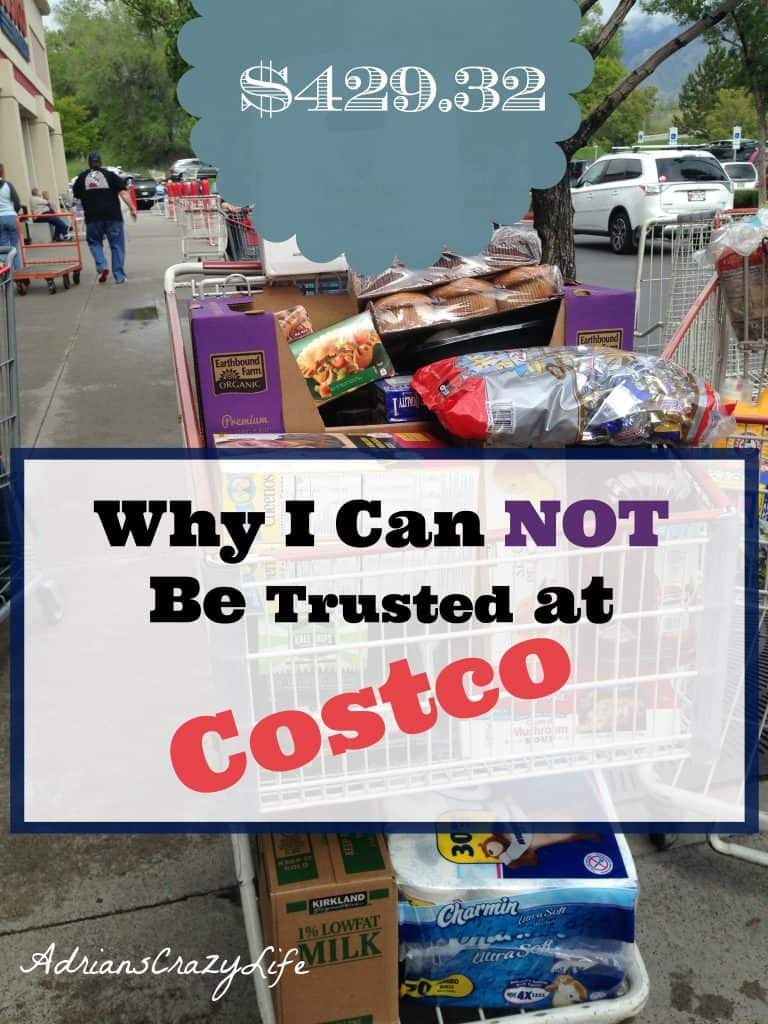 Why I can NOT be Trusted at Costco #AdriansCrazyLife Big box stores are my Kryptonite when it comes to shopping and this time I really went OVERBOARD. #ShoppingFail