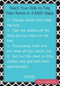 Magic Formula to get Your Kids to Clean Their Rooms @AdriansCrazyLif You've got to try this with your kids. 30 minute no-yelling clean-up.