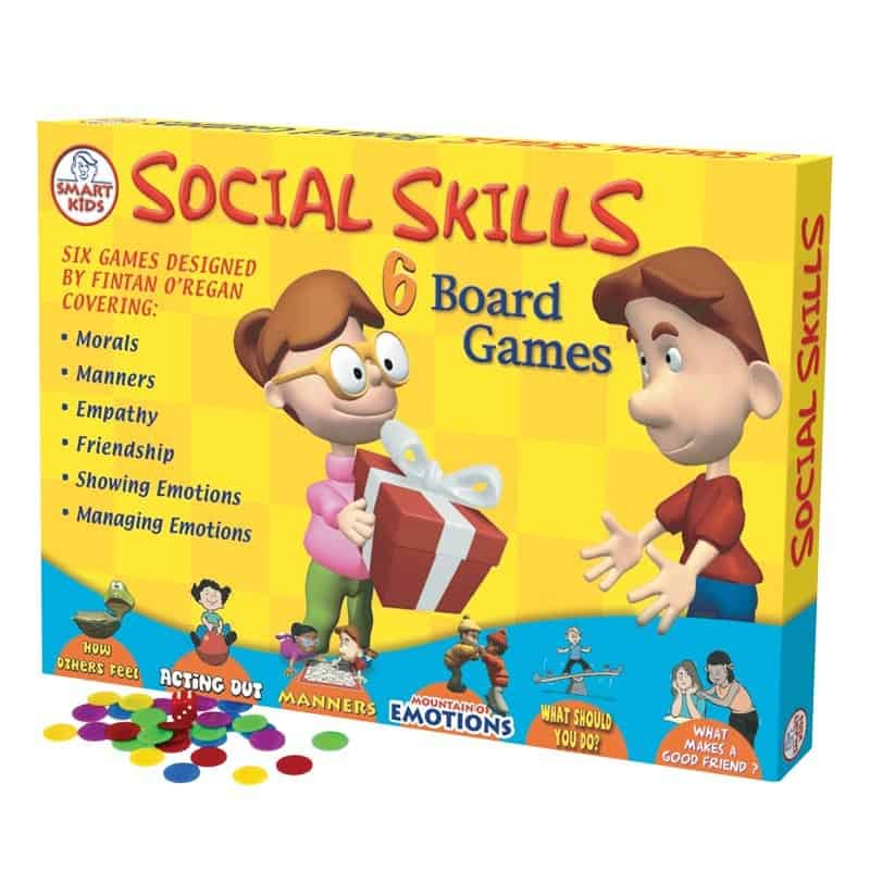 This social skills game is great to help kids with their daily lives.