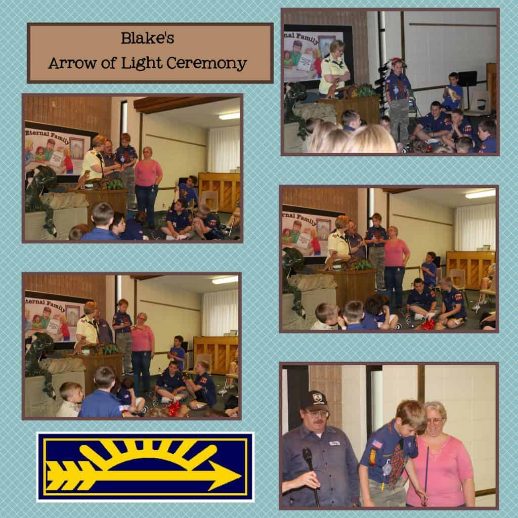 Digital Scrapbooking: Scout Pages - Early Years @AdriansCrazyLif My son's early years in Scouting as represented in his scrapbook pages.