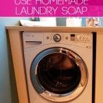 Why I WON'T Use Homemade Laundry Soap