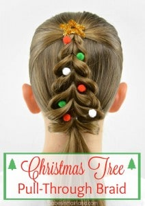 Becky Porter's fabulous Christmas Tree braid.