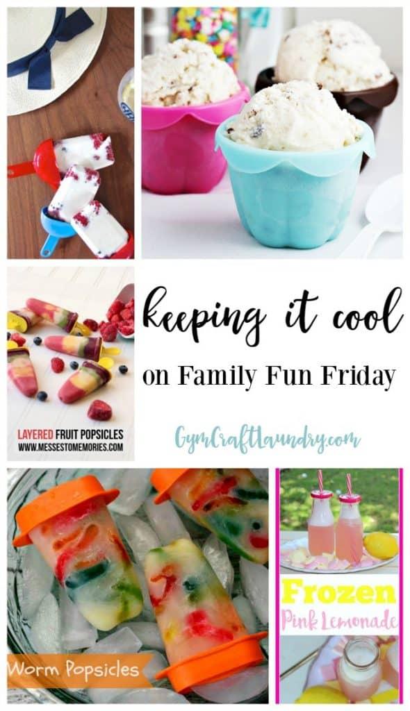 Keeping it Cool at Family Fun Friday