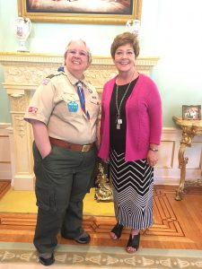 Me and Utah First Lady Jeanette Herbert