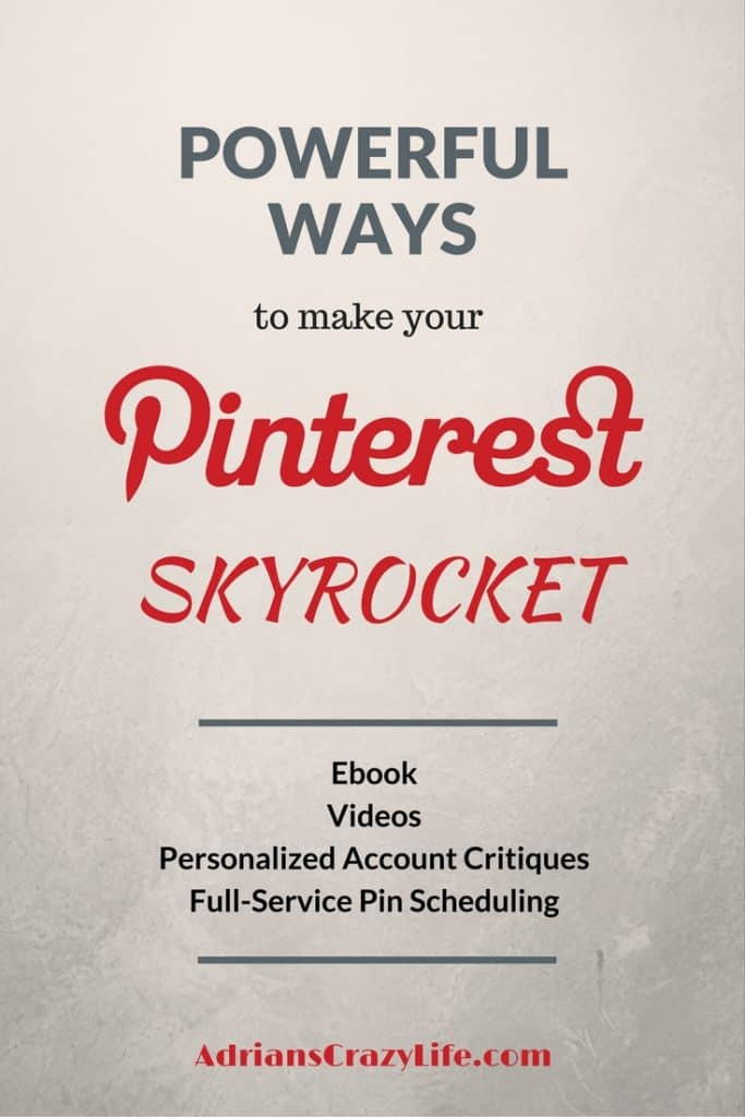 Are you struggling with your Pinterst account? I have some resources that can HELP!