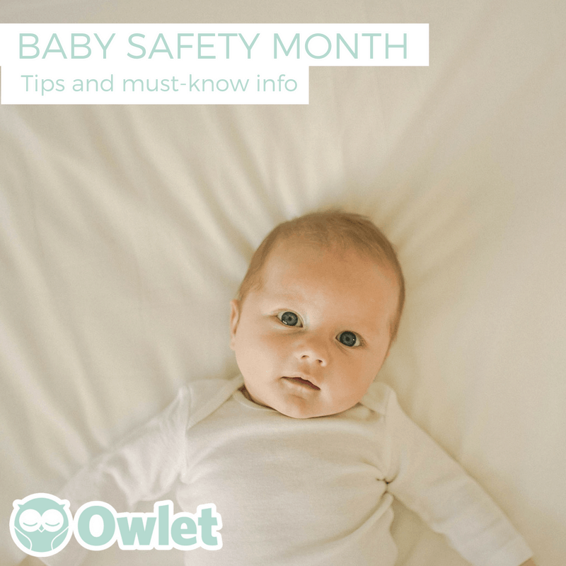 Owlet is sponsoring a baby safety giveaway on my blog.