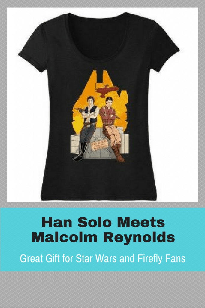 A unique mashup of Star Wars and Firefly. Han Solo and Malcolm Reynolds together at last.