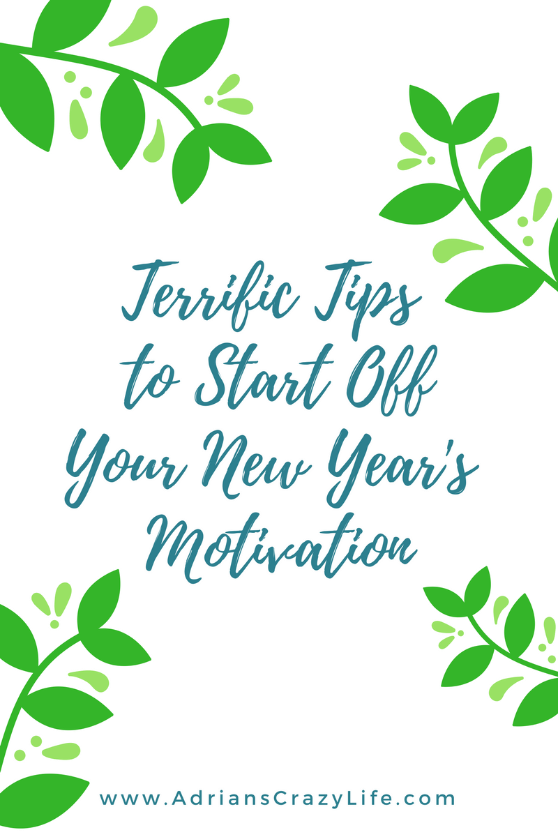 New post series on motivation to help you achieve your New Year's Resolutions this year.