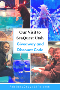 Our visit to SeaQuest Utah along with giveaway and discount code