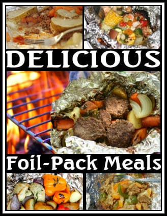 Tinfoil dinner recipes from Camping with Gus