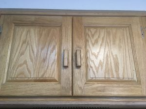 Kitchen Remodel - Painted Oak Cabinets