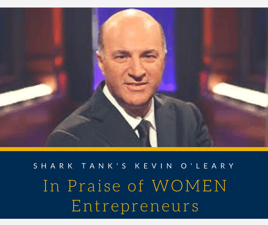 Mr. Wonderful from Shark Tank talks about his experiences with female vs. male entrepreneurs