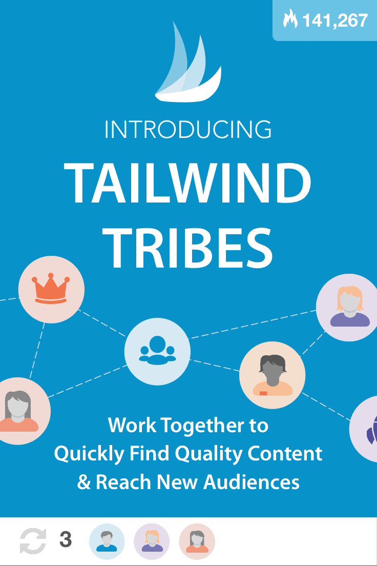 Did you know Tailwind Tribes are now searchable? Cool beans. Click here to find out the skinny on Tribes.