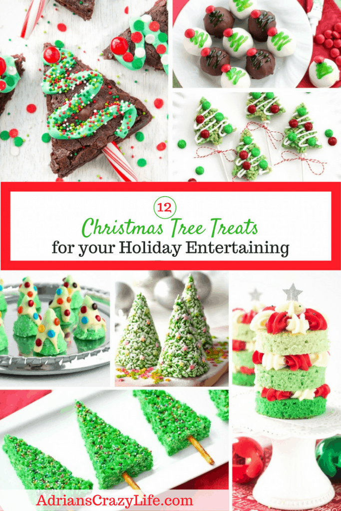 It's the season for holiday parties and if you're looking for fun Christmas tree recipes, you are in the right place. Here's a dozen fun recipes for you!