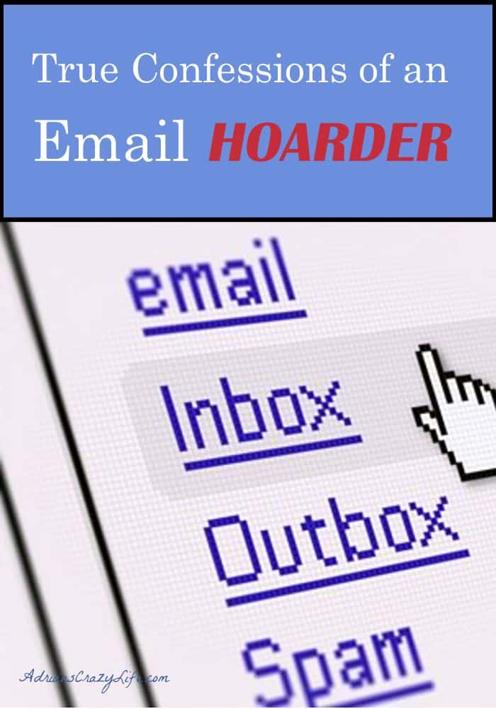 I am such an Email HOARDER. I share some tips to get it under control.