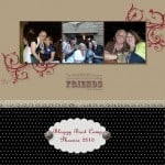Digital Scrapbooking – Bloggy Boot Camp Page