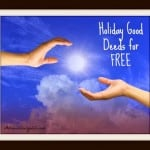 Holiday Good Deeds for Free