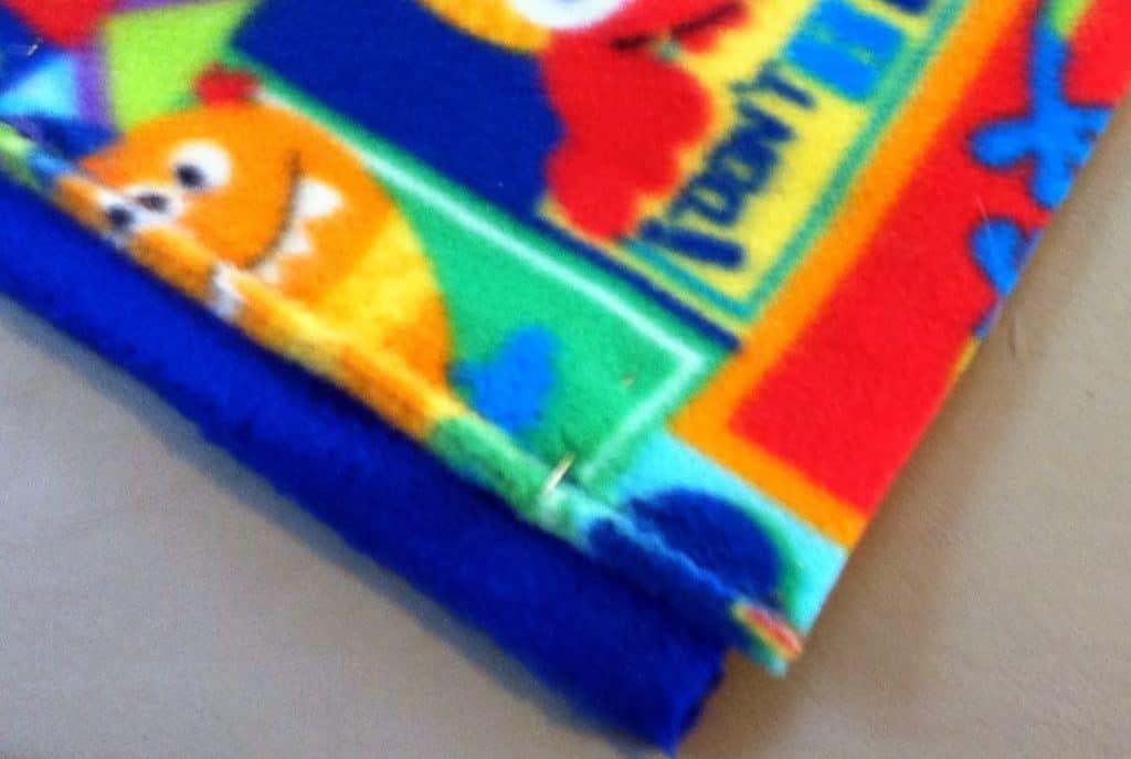 Fleece Blankets selvage edge