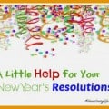 A Little Help for Your New Year's Resolutions