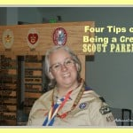 Four tips for being a good scout parent