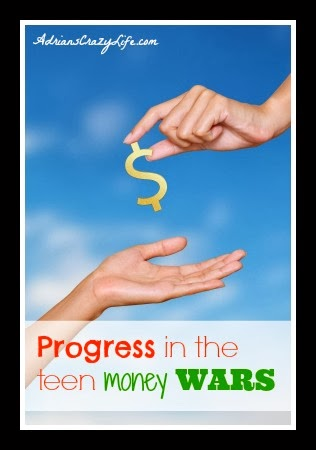 Progress in the Teen Money Wars
