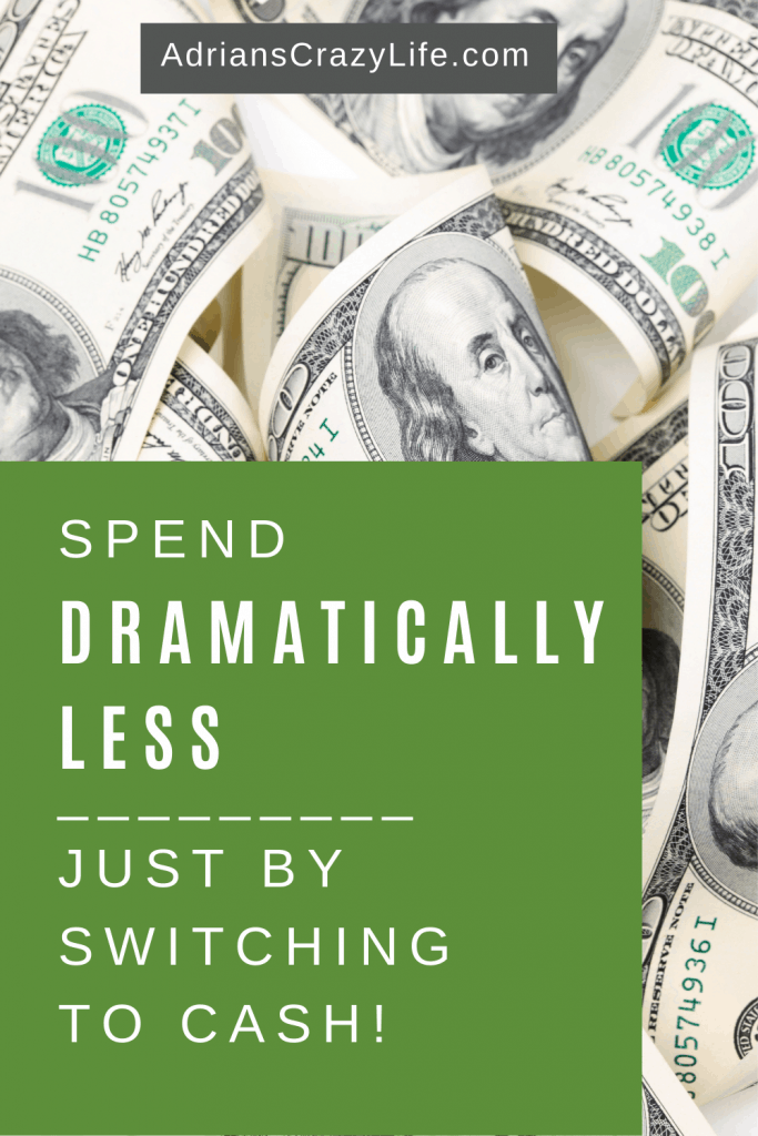 Spend Less by Paying Cash