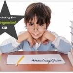 Organizing ADHD kids