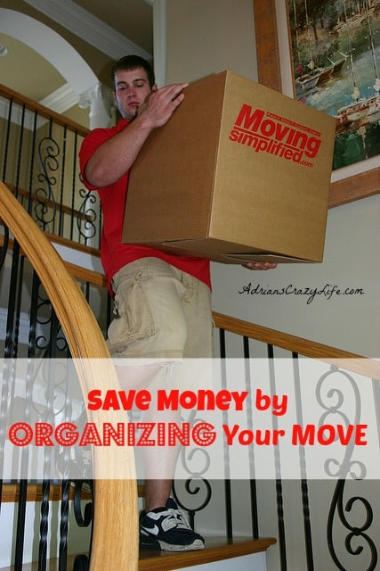 Save Money by Organizing Your Move