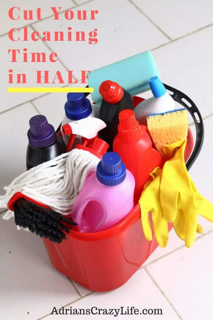 Simple techniques that can greatly reduce your cleaning time.