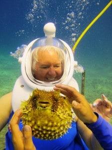 Helmet Dive