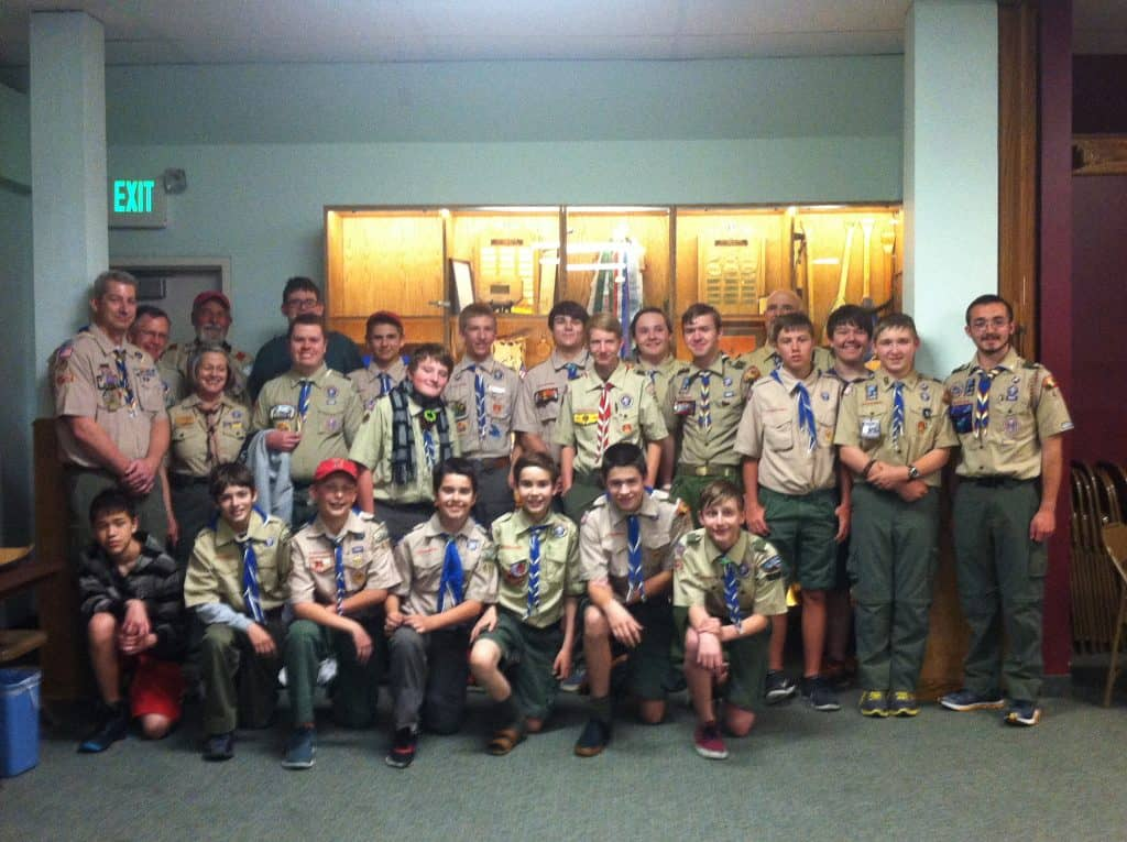 Scout Sunday #AdriansCrazyLife Ways that our Scout Troop performs service to our sponsoring organization. Scout Sunday is just part of it.