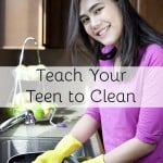 Get Your Teen to Clean