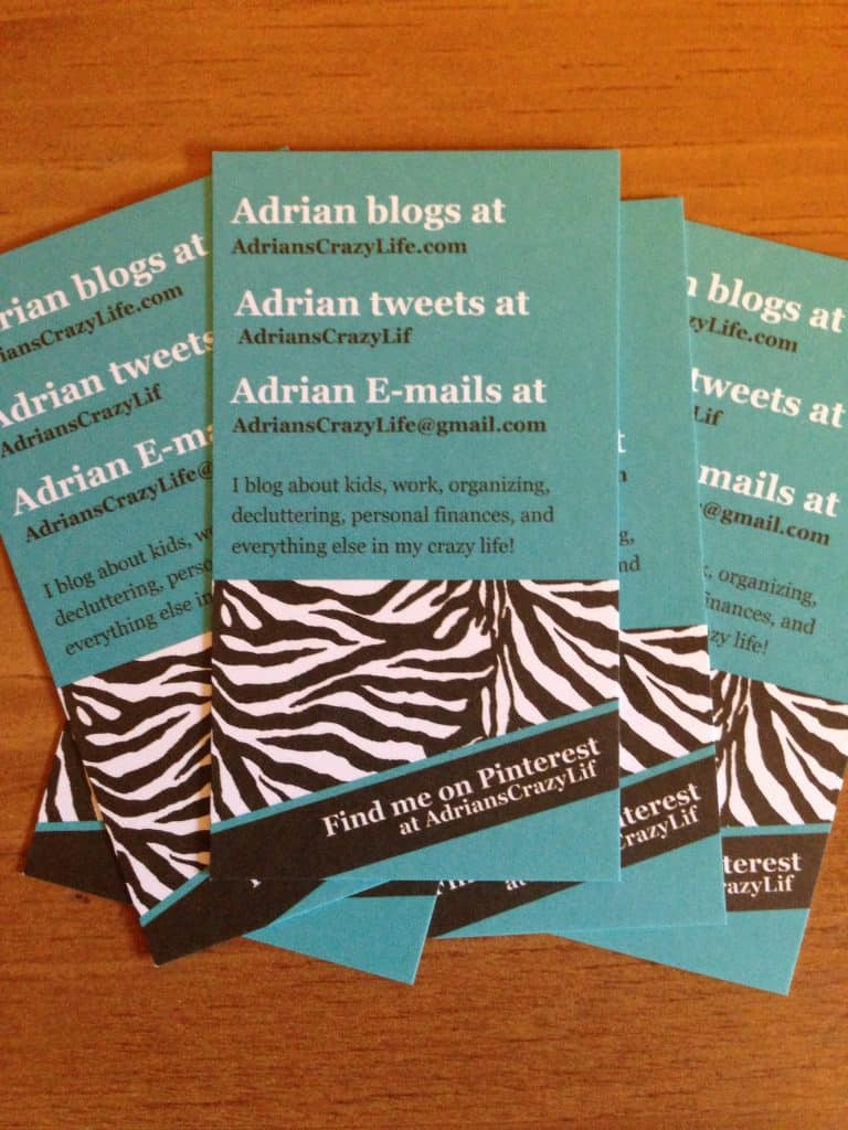 Headshots and Business Cards, Oh My! | Adrian\'s Crazy Life