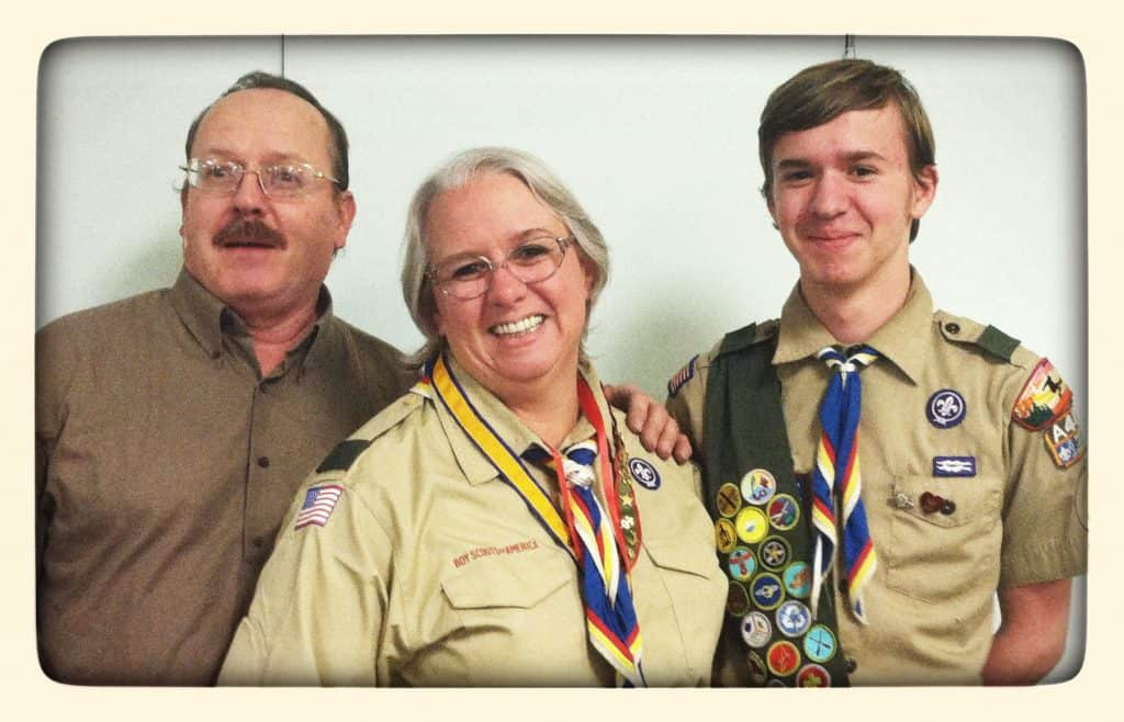 My Son the Almost-Eagle Scout #AdriansCrazyLife My son is just finishing up his Eagle project.  Yay!