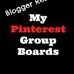 Blogger Resources – My Pinterest Group Boards