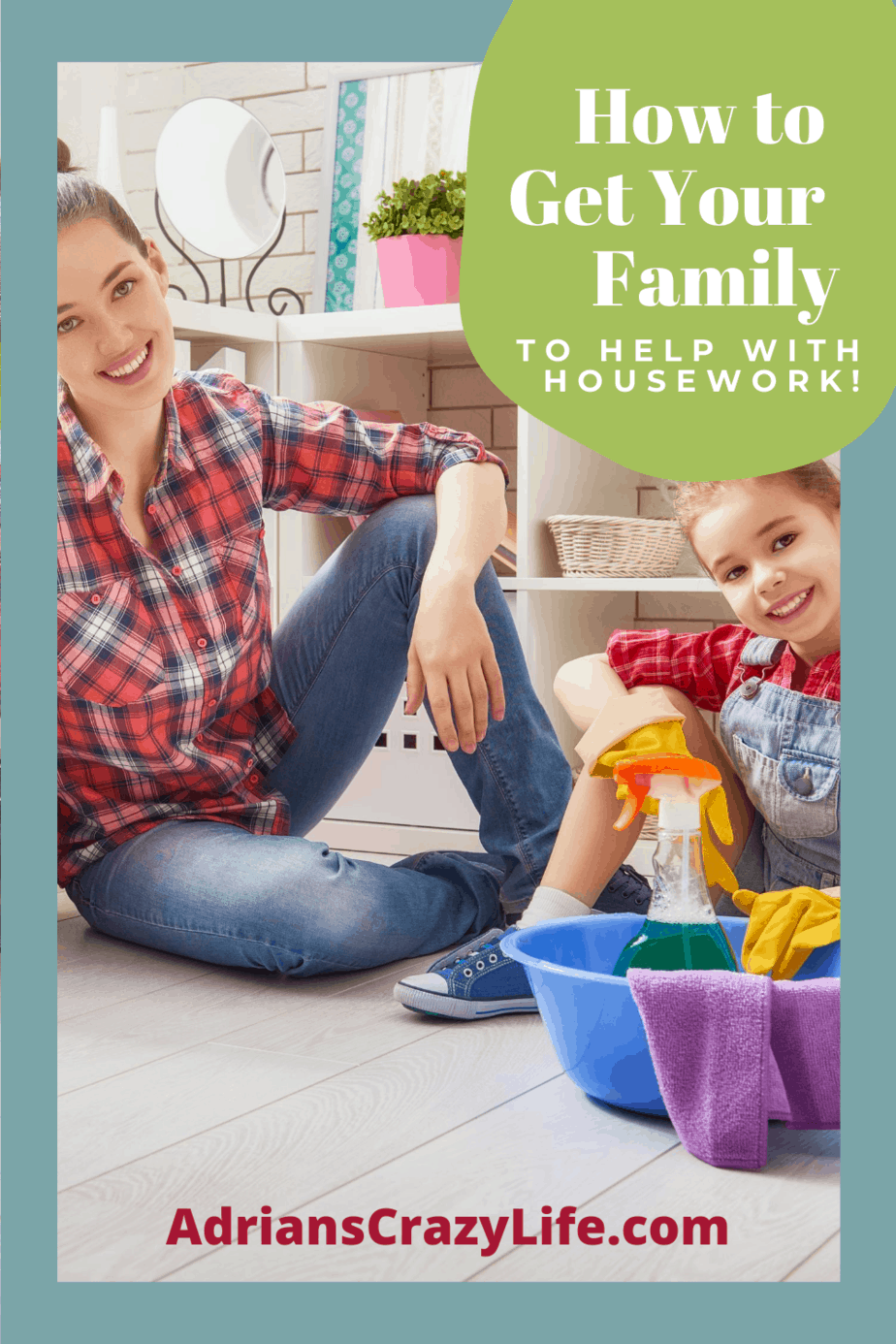 Get Your Family to Help with Housework