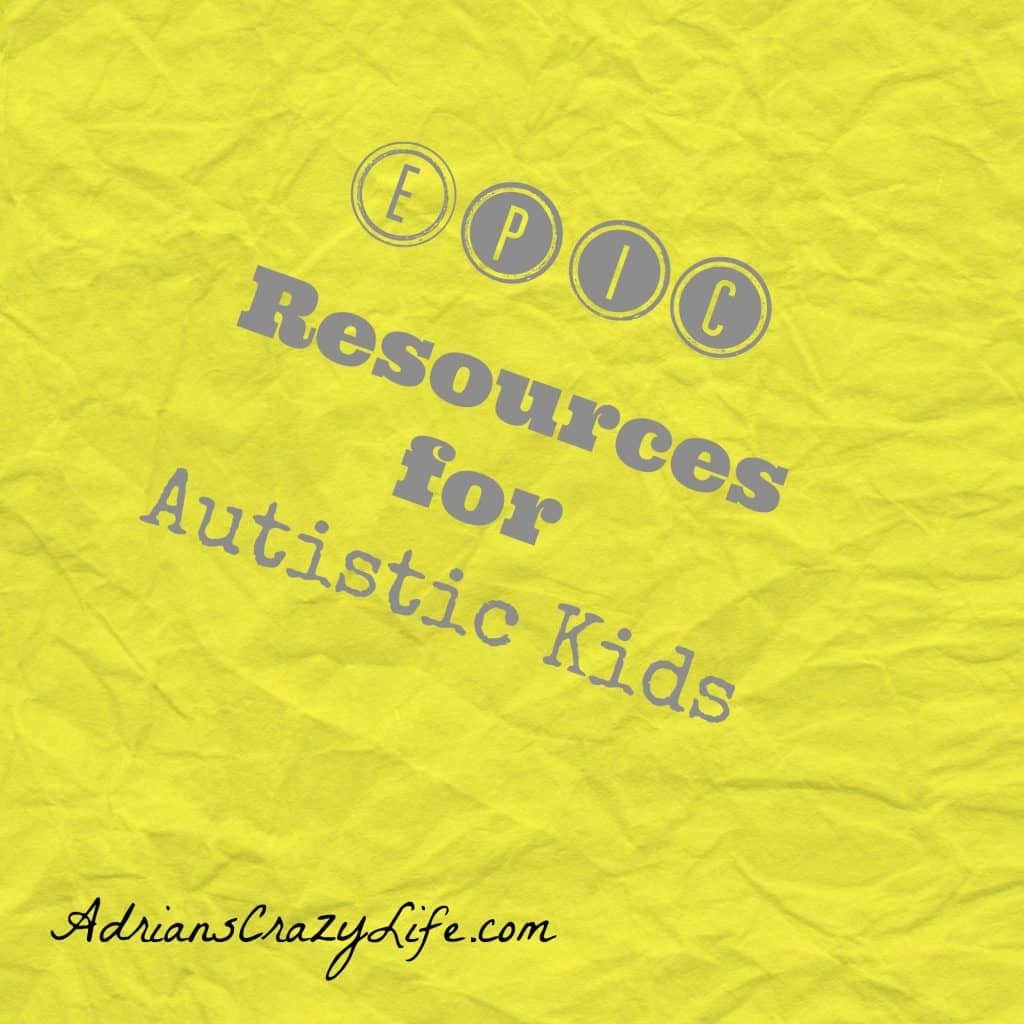 Epic Resources for Autistic Kids @AdriansCrazyLif A collection of fantastic resources for Autistic/ADHD/Asperger's kids