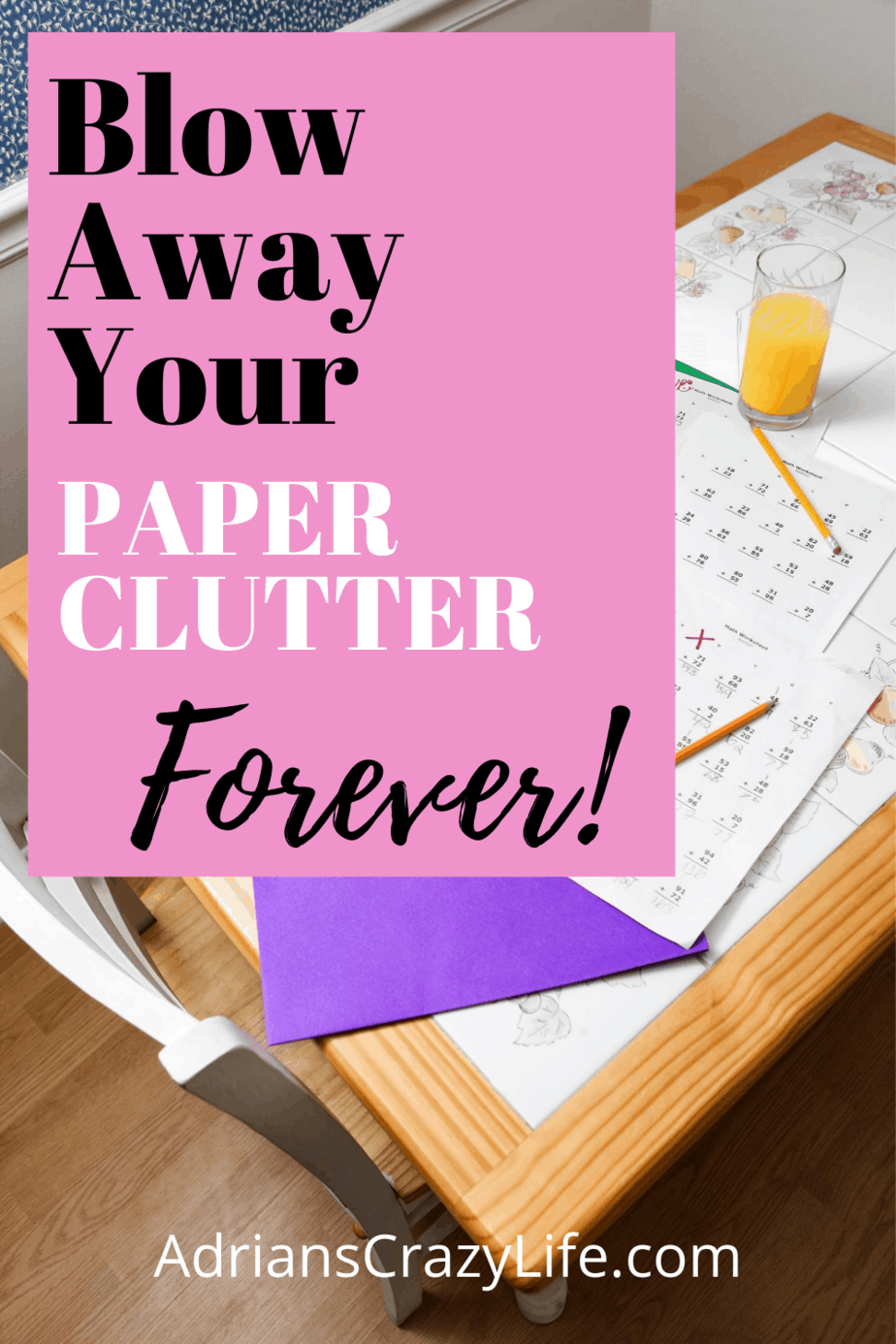 Eliminate Your Paper Clutter