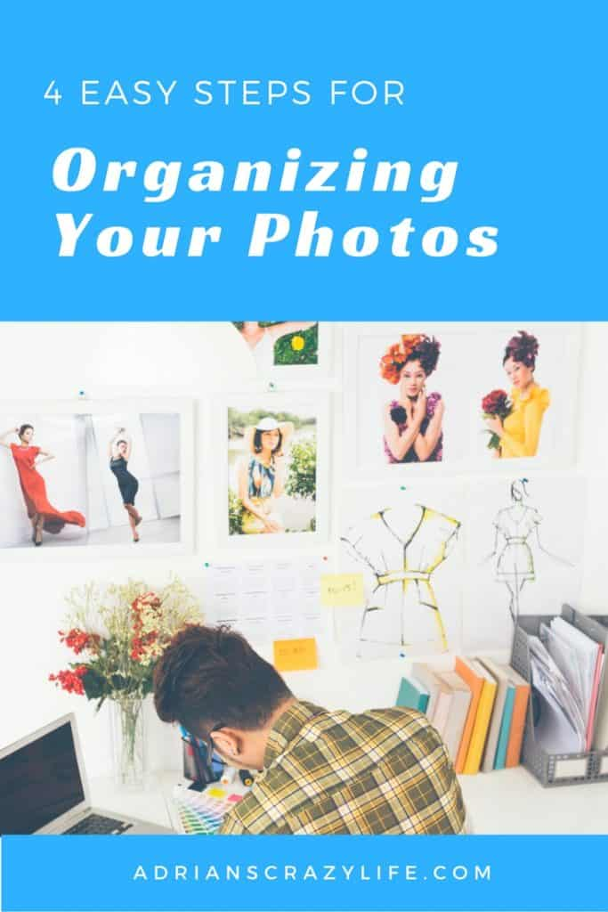 Get those photos out of shoeboxes and out of your phone and put them to USE. Easy steps to salvage and utilize them.
