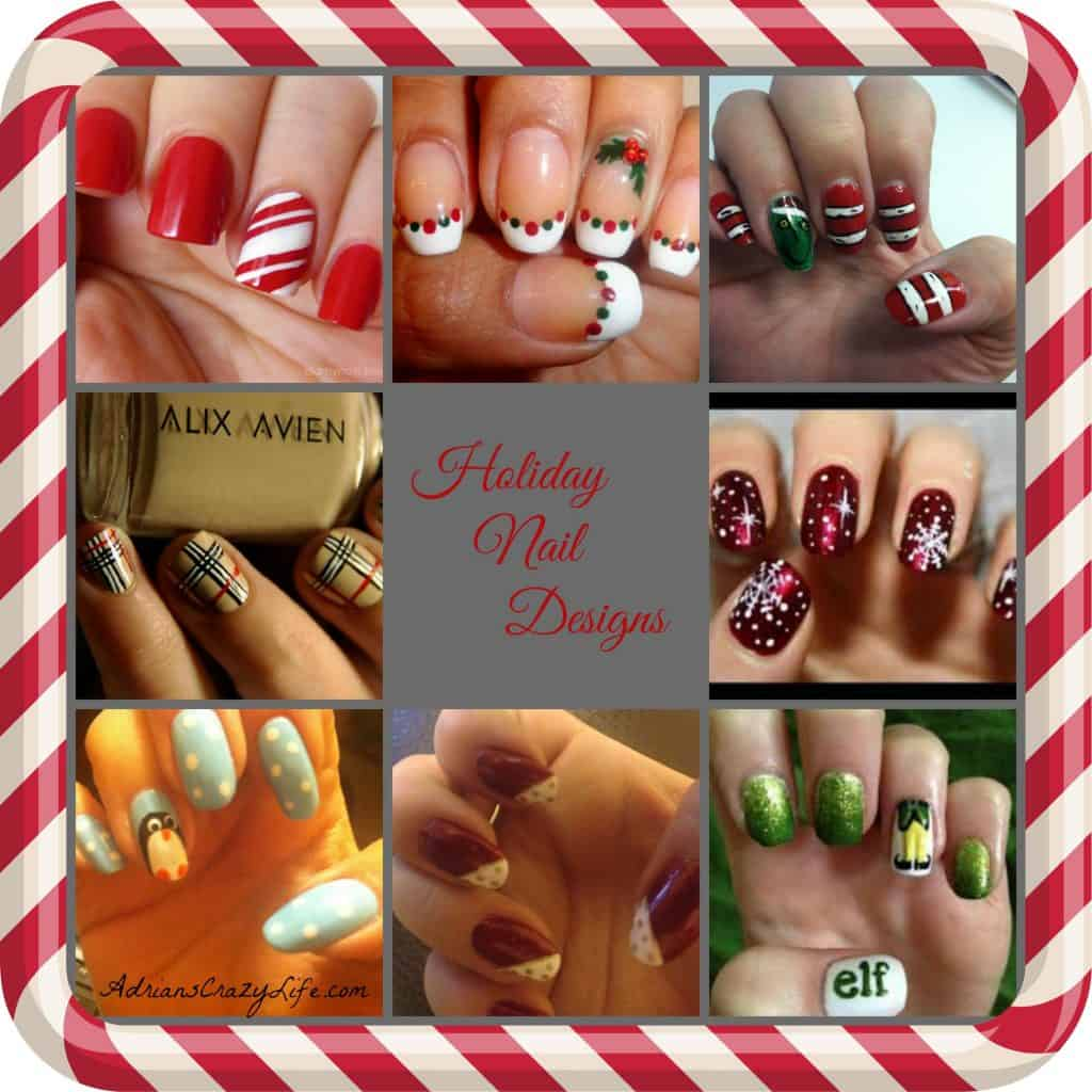 Fun and Funky Holiday Nail Designs - Check out some of the crazy things I do with my nails.