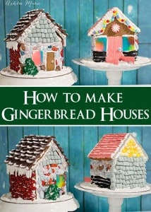 My friend Ashlee's fabulous tutorial on how to make gingerbread houses.