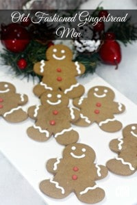 Traditional Gingerbread Men by Katie