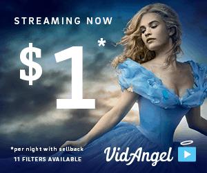 VidAngel - a weird way to watch movies for just $1