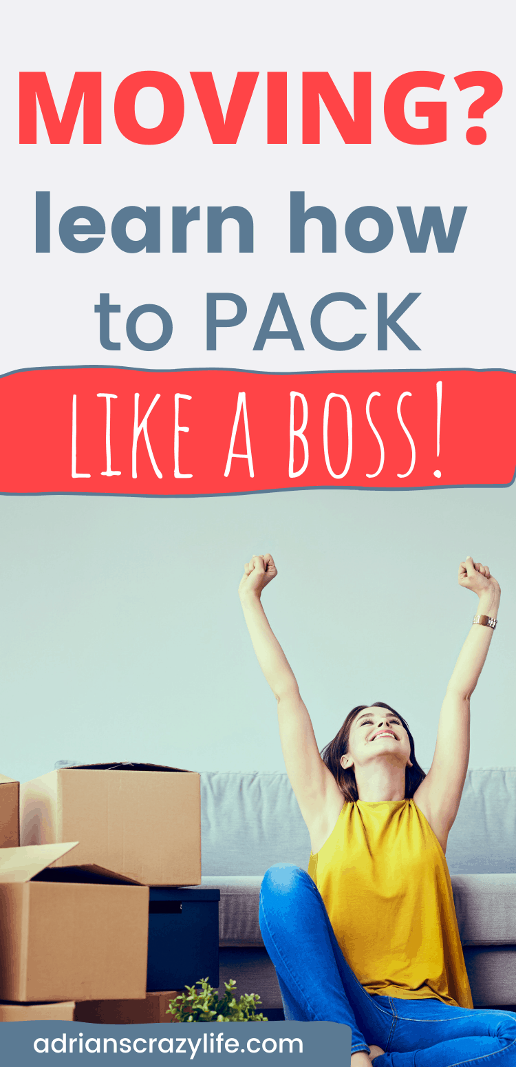 Moving? How to pack like a BOSS!