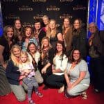 Here's our Utah bloggers group at Odysseo's Social Media Night